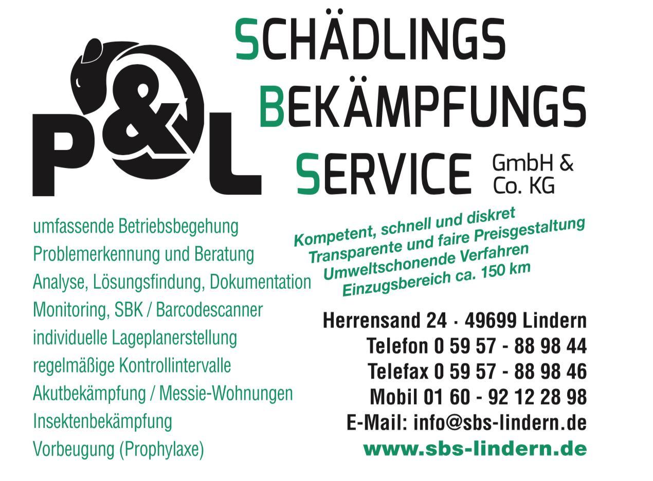 Logo P&L Schädlingsbekämpfungsservice GmbH & Co. KG