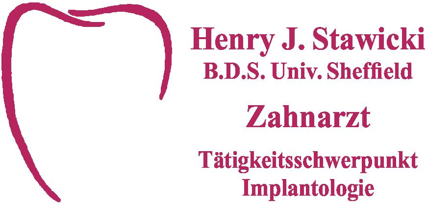 Logo Zahnarzt Henry-J. Stawicki