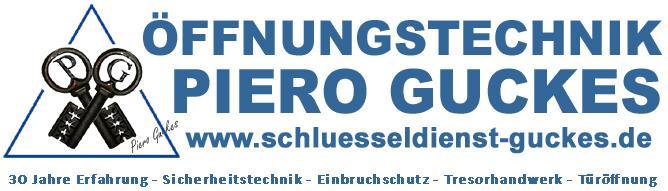 Logo Schlüsseldienst u. Öffnungstechnik Piero Guckes