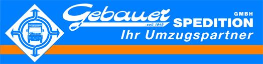 Logo Gebauer Spedition GmbH - Ihr Umzugspartner