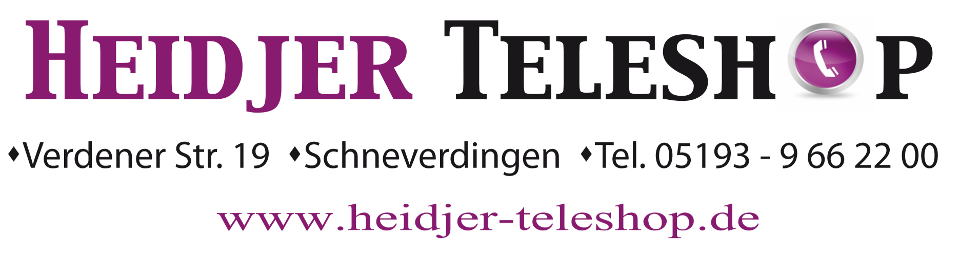 Logo Heidjer Teleshop
