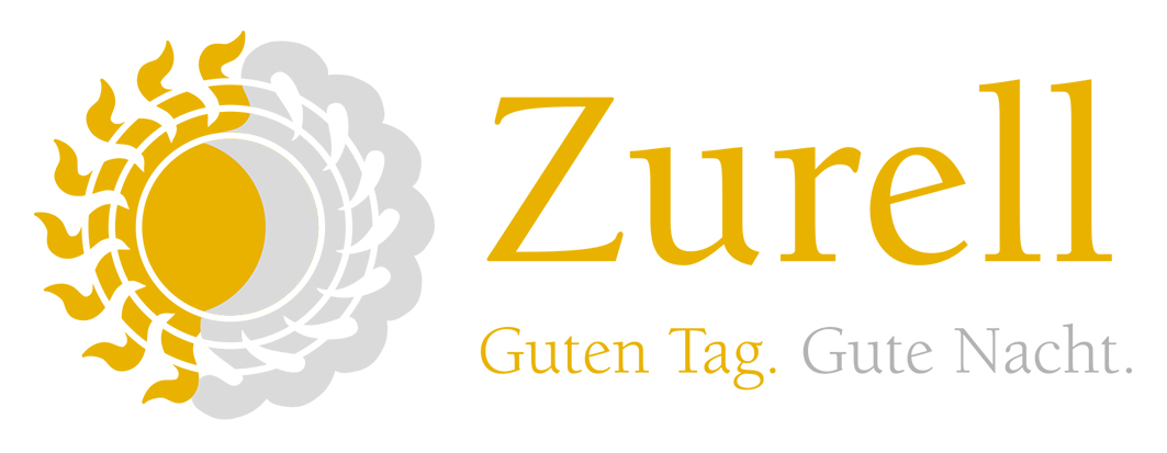 Logo Zurell Guten Tag Gute Nacht.