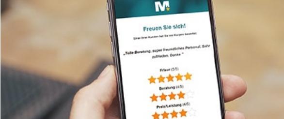 Bewertungsalarm Mobile App