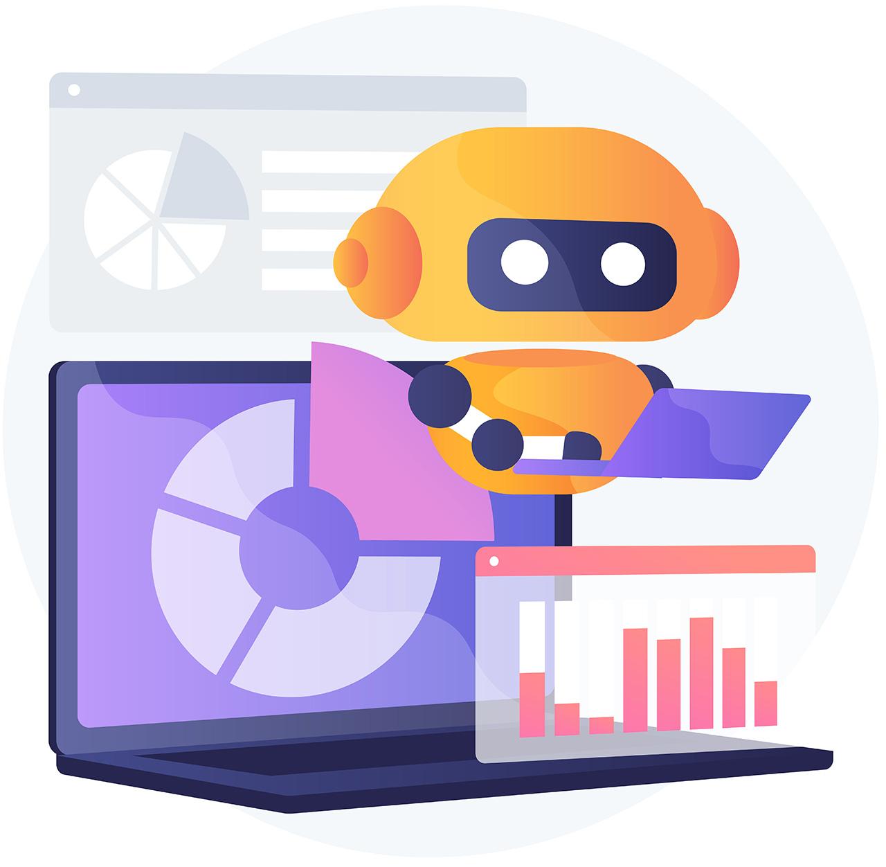 bot sucht nach strukturierten Daten