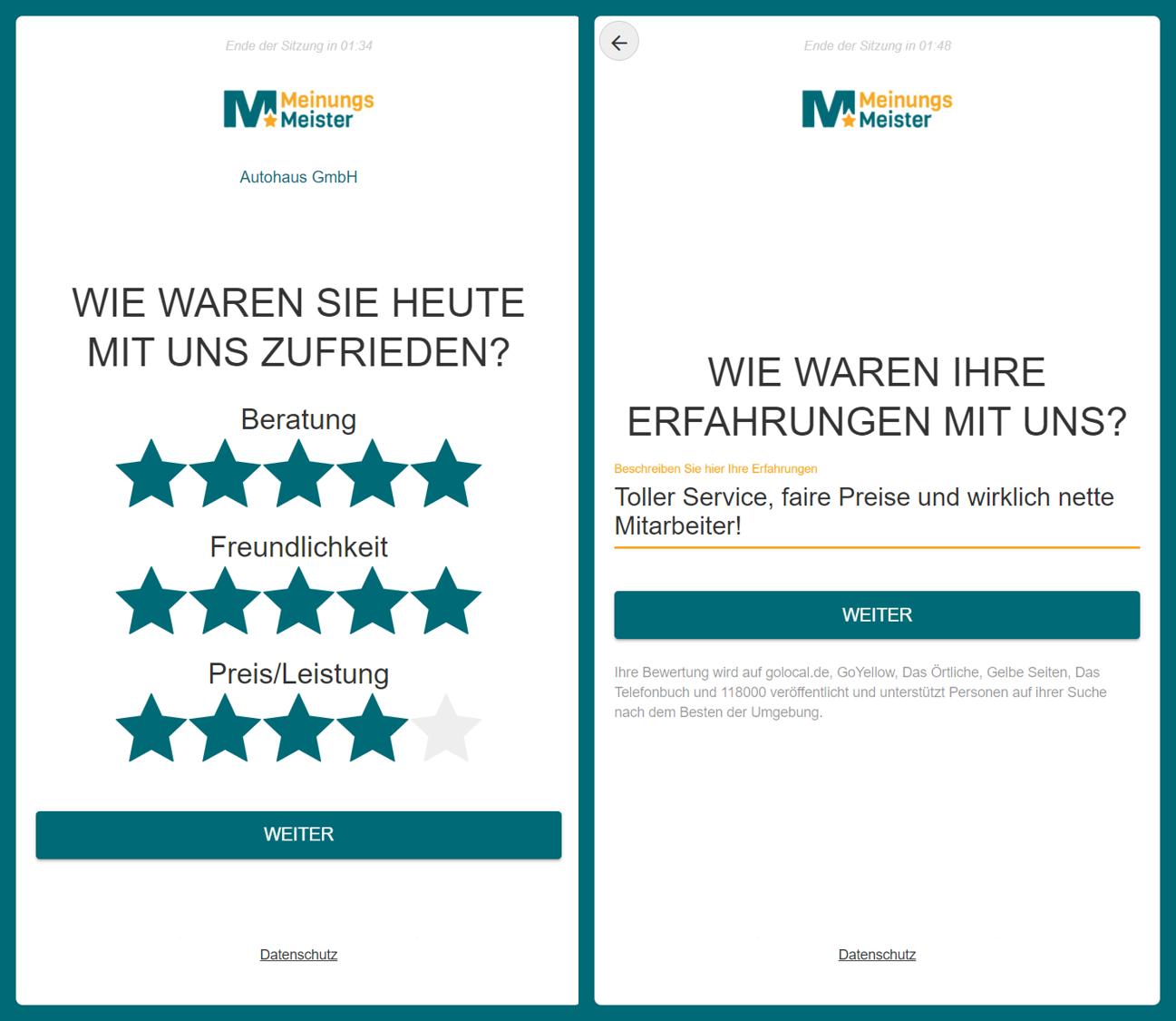 Freemium app Screens